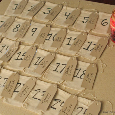 DIY Advent Calendar with Tutorial
