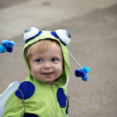 DIY Baby Bug Costume | Simple Halloween Costume Ideas