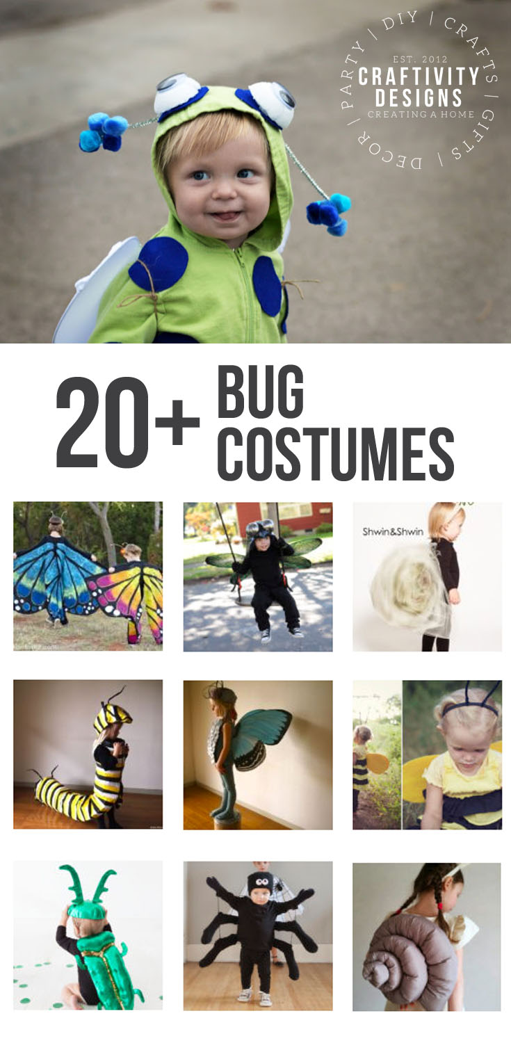 Baby Bug Costume and 20+ Bug Costume Ideas for Halloween