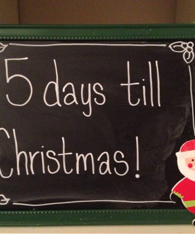 Holiday Chalkboards