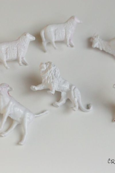 Anthropologie Inspired: Animal Push Pins
