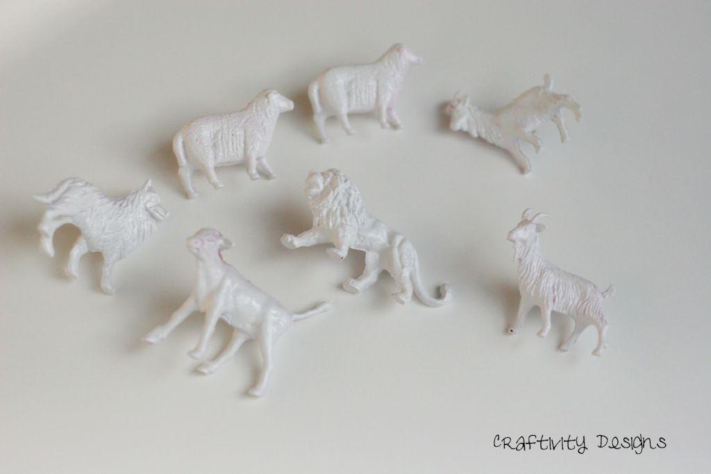 Anthropologie Inspired Animal Push Pins Craftivity Designs