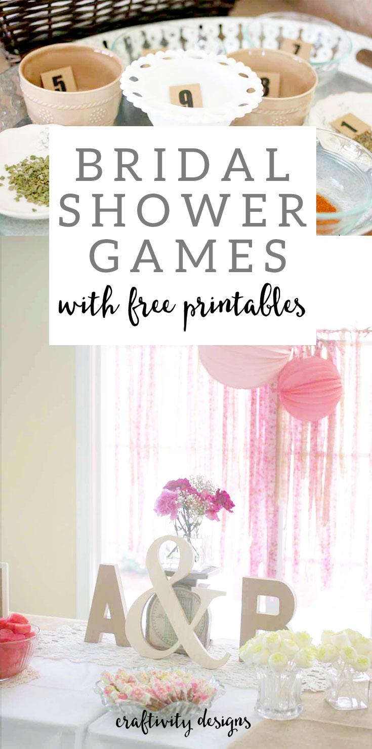 Vintage bridal shower games scattergories printable for Bridal shower games that aren t cheesy