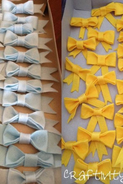 Bows & Bow Ties Shower: The Decorations
