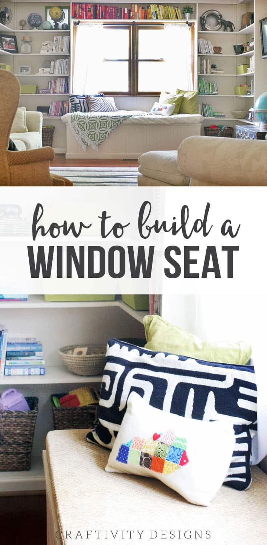 Miraculous Diy Window Seat Part 2 Craftivity Designs Creativecarmelina Interior Chair Design Creativecarmelinacom