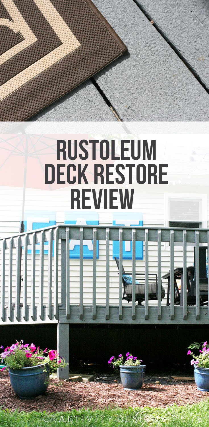How to apply rustoleum deck restore step by step review with how to apply rustoleum deck restore how to makeover an old wood deck rustoleum baanklon Choice Image