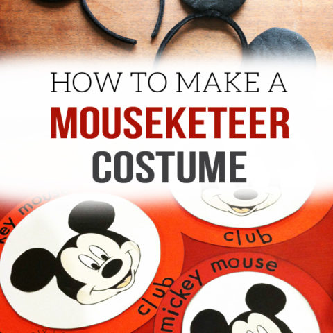 how to make a mouseketeer costume or mickey mouse club costume