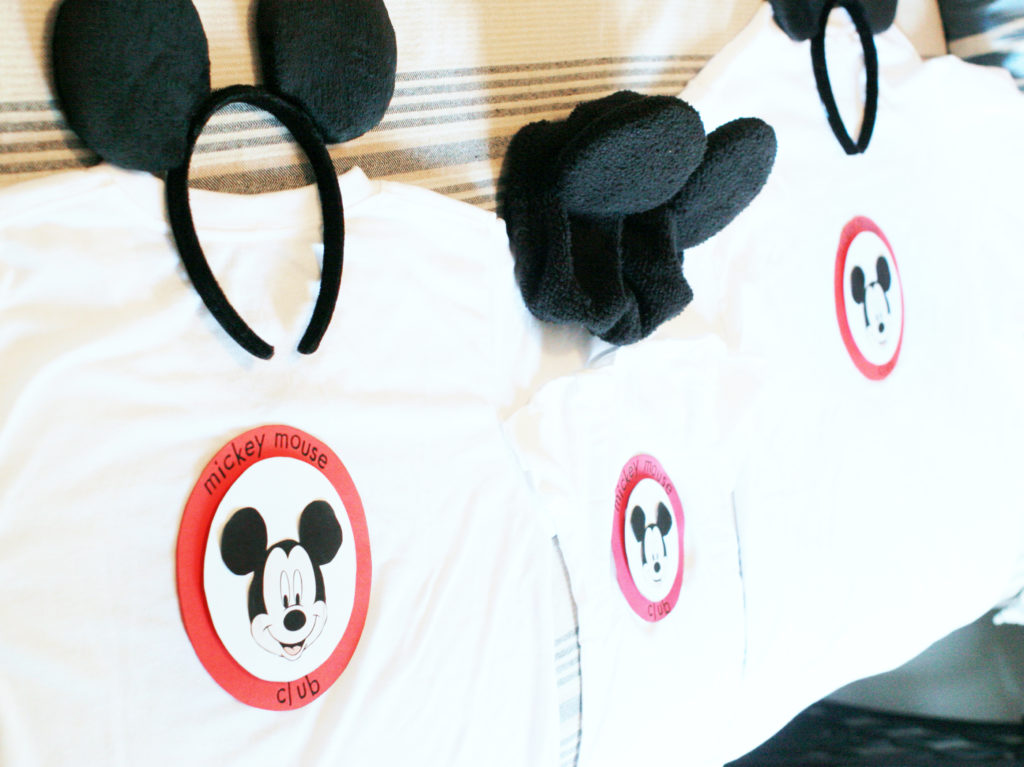 family mouseketeer costume