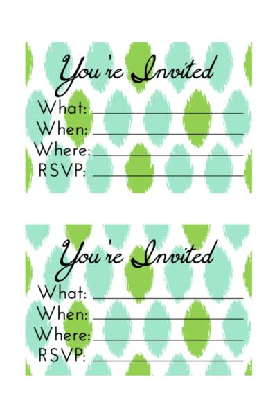 Day 15: Party Invite
