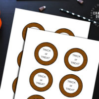 How to Make Halloween Gift Tags (Free Printable!)