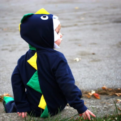 A Dinosaur Costume and a Giveaway