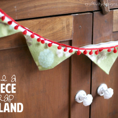 Fleece Scrap Garland