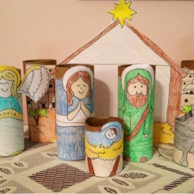 Kids Nativity Scene