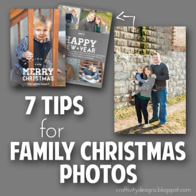 7 Tips for Family Christmas Photos