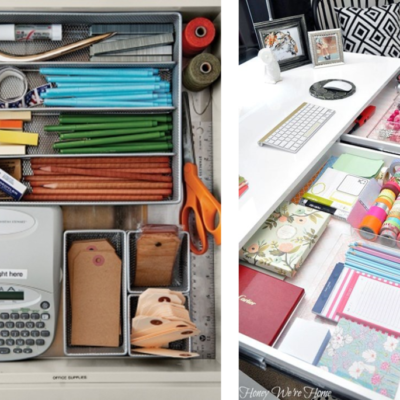 8-Week Organizing Challenge // Office & Desktop Inspiration