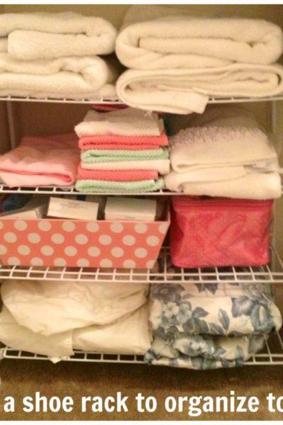 8-Week Organizing Challenge // Bathroom
