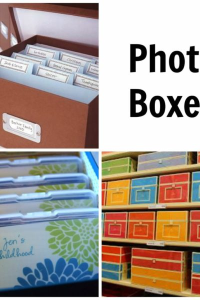 8-Week Organizing Challenge // Photos & Albums