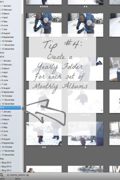 8-Week Organizing Challenge // Digital Photo Organization with iPhoto