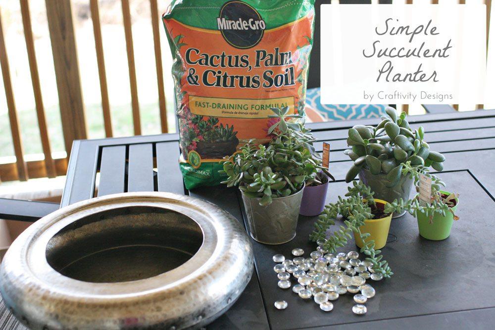 craftivity designs succulent planter sm15