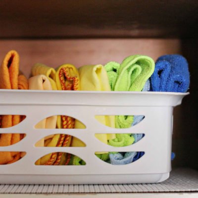 8-Week Organizing Challenge // My Organized Laundry Room