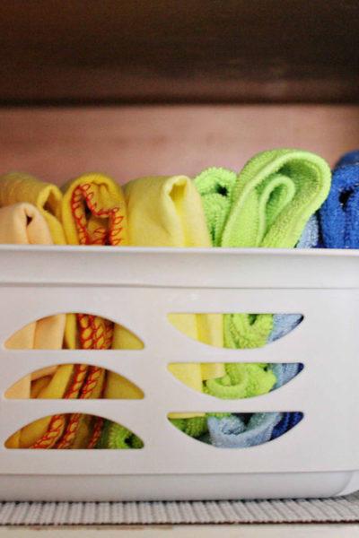 8-Week Organizing Challenge // My Organized Laundry Room