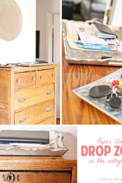 Organizing {some} of our Paper Clutter