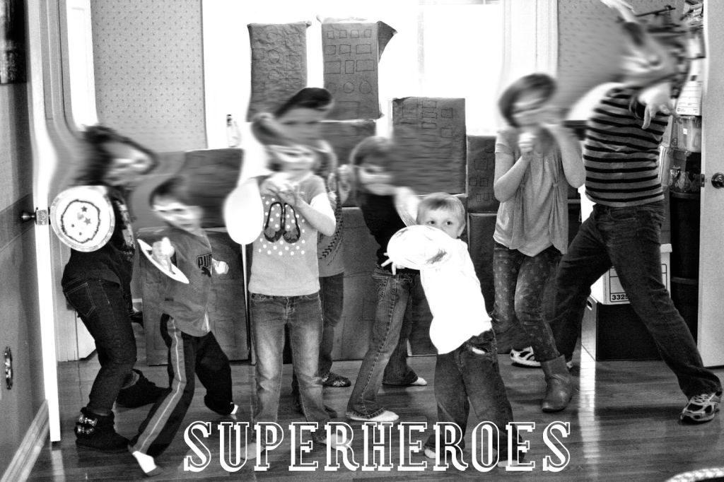 Superhero city game