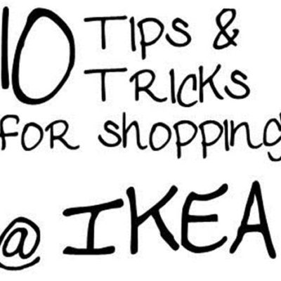 IKEA Tips & Tricks