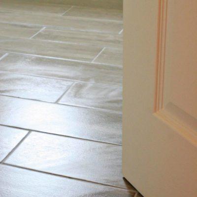 Bathroom Renovation // Sealing Tile
