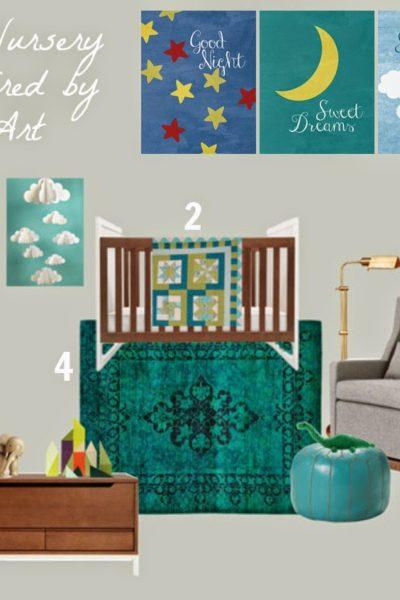 Custom Prints and a Nursery