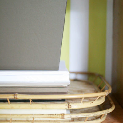 A Simple Tip // Printer Paper Storage