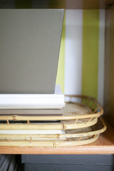 A Simple Tip // Printer Paper Storage