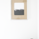 A Simple Tip // Burlap Matted Frame
