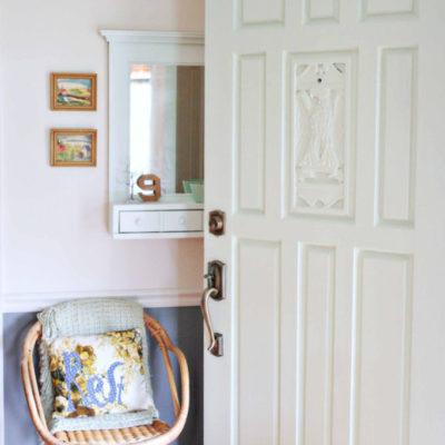 A Mint Green Front Door
