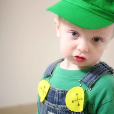 DIY Luigi Costume // Simple & Inexpensive!