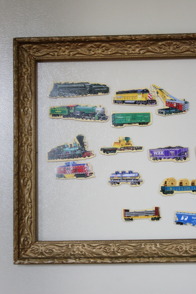 A Simple Tip // Frame Your Child's Magnets