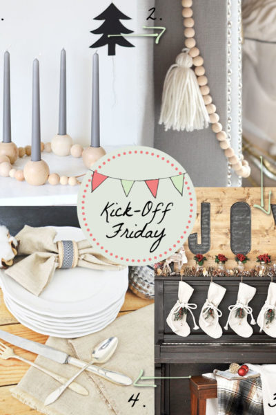 Kick-Off Friday // 4 Holiday Projects