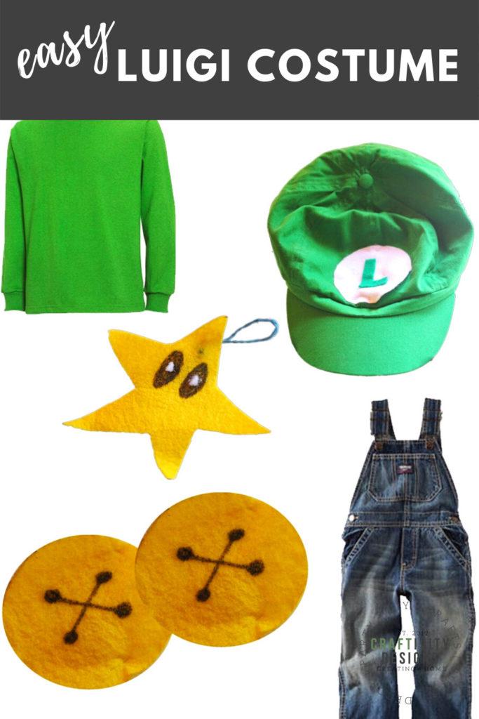 easy luigi costume