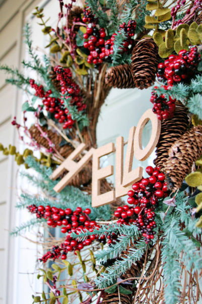 """A """"Welcome""""-ing Wreath // & Simple Wreath Updates"""