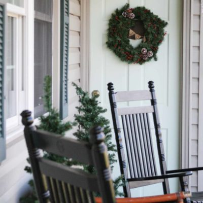 Christmas Tour 2014 {with Dining Room Mini-Reveal}