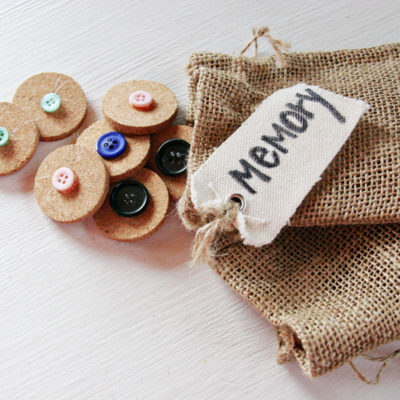 DIY Button Matching Game