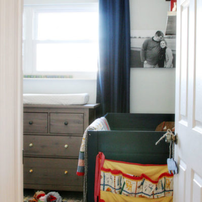 Shared Bedroom & Nursery // Source List