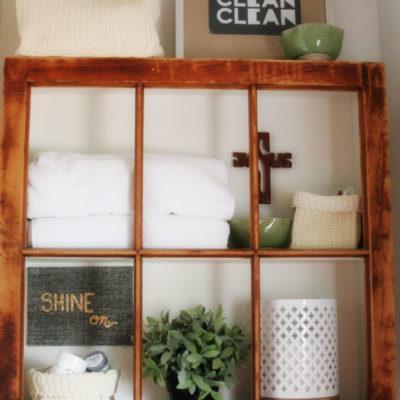 Build a Window Frame Shelf