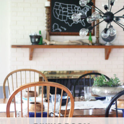 Dining Room Makeover // The Reveal