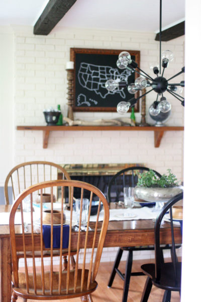 Farmhouse Dining Room Makeover // The Reveal