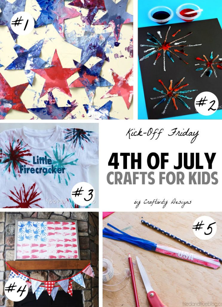 4th of july crafts for kids craftivity designs kick off friday