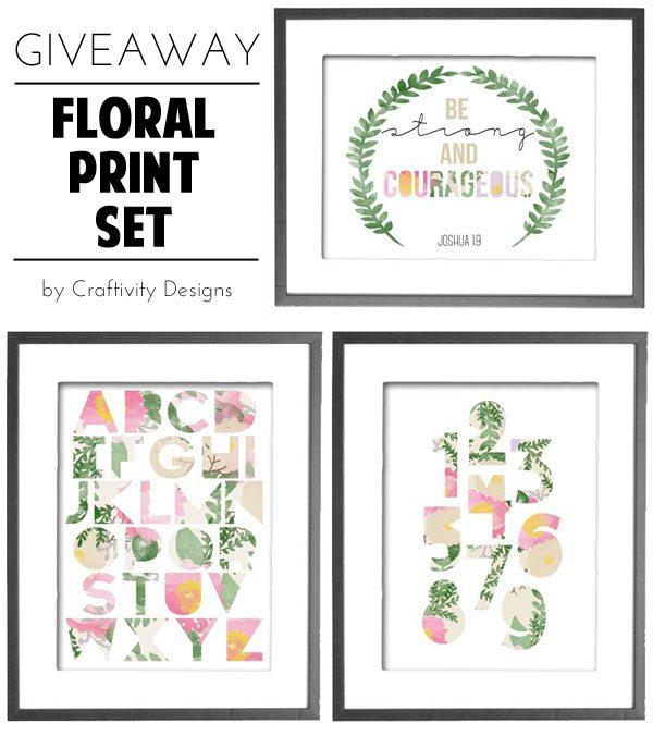 Floral Print Set