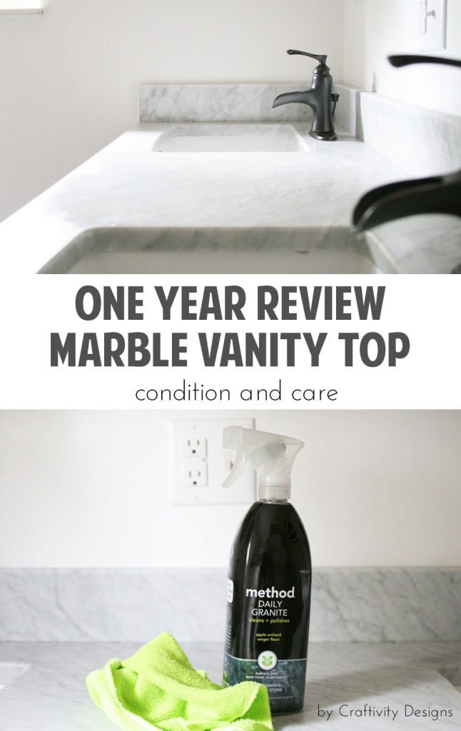 one-year-review-of-marble-vanity-top-countertop-craftivity-designs