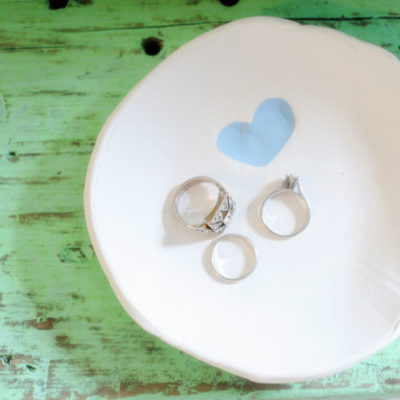 DIY Thumbprint Ring Dish