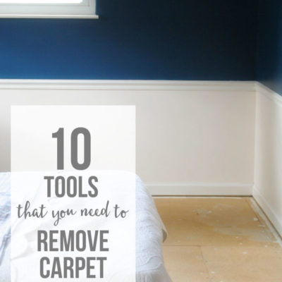 10 Tools that You Need to Remove Carpet